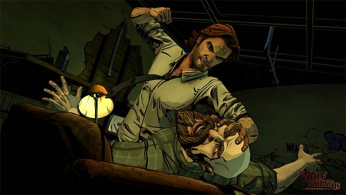 The Wolf Among Us sur Nvidia Shield
