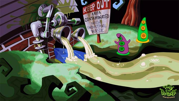 Day of the Tentacle sur Nvidia Shield