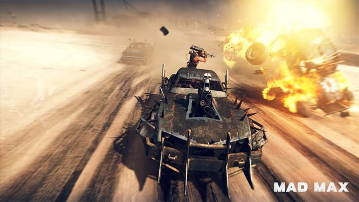 Mad Max sur Nvidia Shield