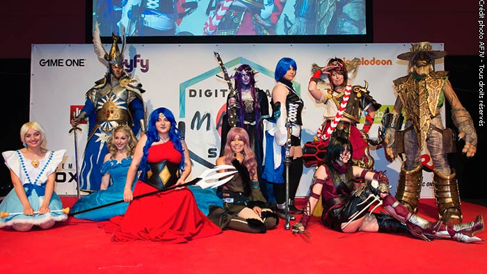 Cosplay au Digital Game'Manga Show