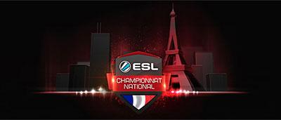 Le Championnat de France de l'esports