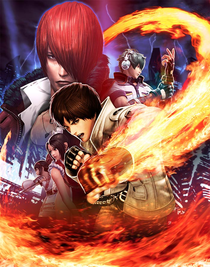 Fighters Europe Com: Deep Silver éditera The King Of Fighters XIV En Europe