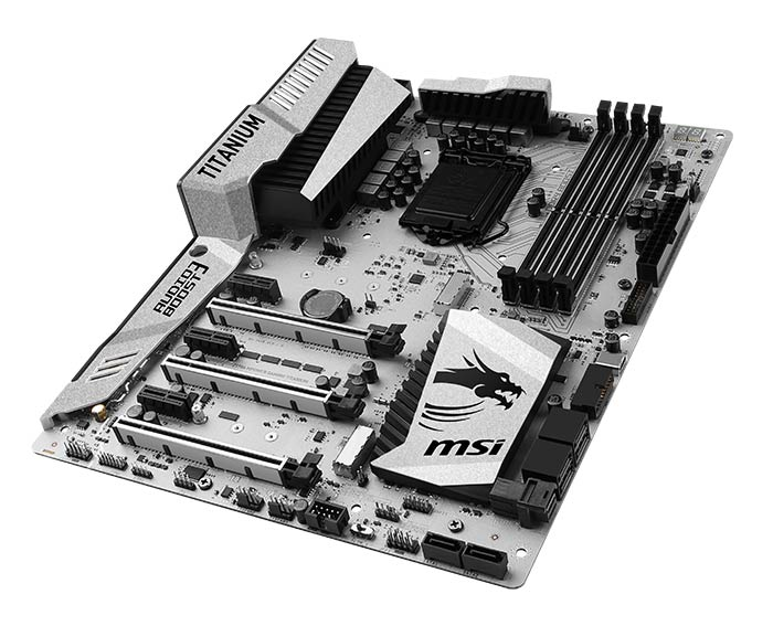 Carte mère MSI Z170A Mpower Gaming Titanium