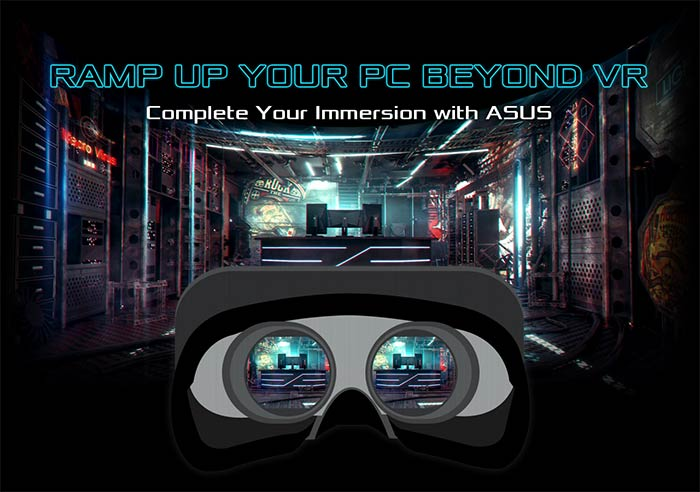 Asus annonce le programme Beyond VR Ready