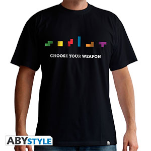 Tee-shirt Tetris Choose your weapon