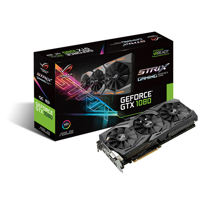Asus Strix GeForce GTX 1080 (packaging)