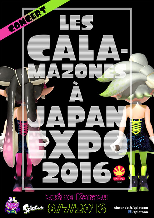 Calamazones à Japan Expo 2016
