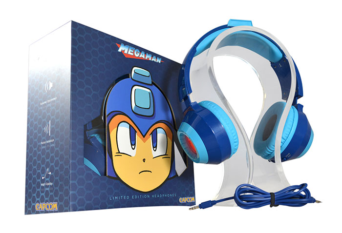 Casque audio Mega Man