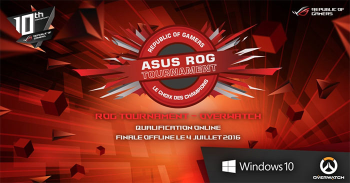 Asus ROG Tournament Overwatch