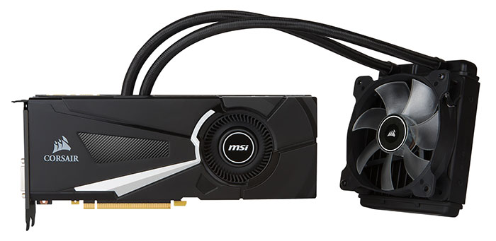 Carte graphique MSI Sea Hawk EK X watercooling