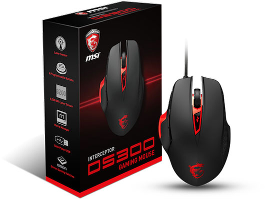 Souris gaming Interceptor DS300