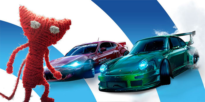 Need for Speed et Unravel rejoignent The Vault d'EA Access