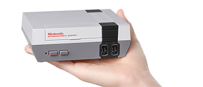 Nintendo ressort la NES en version mini