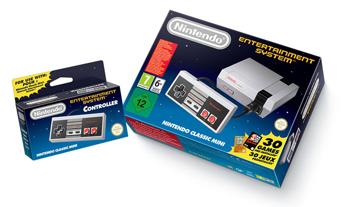 Console Nintendo Classic Mini : Nintendo Entertainment System (Packaging)