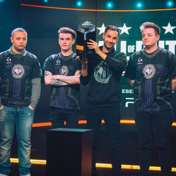 Millenium champion d'Europe Call of Duty