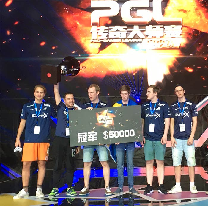 Epsilon remporte la finale d'été du Pro Gamer League (PGL)