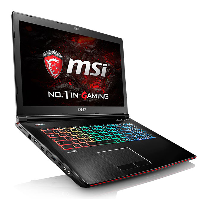 PC portable MSI GE72VR