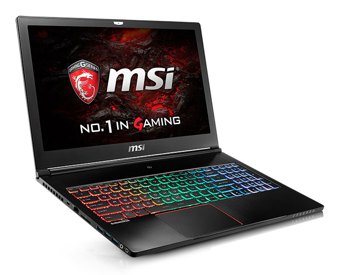 PC portable MSI GS63VR Stealth Pro