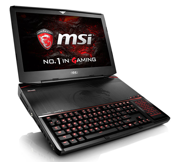 PC portable MSI GT83VR Titan SLI