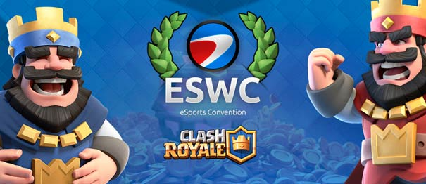 Grand Tournoi Clash Royale de l'ESWC à la Paris Games Week