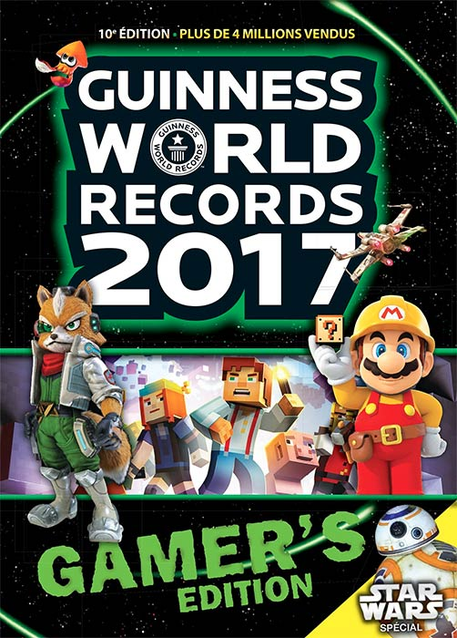 Guinness World Records Gamer's édition 2017