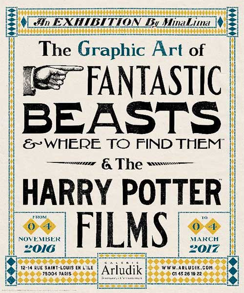 The Graphic Art of Fantastic Beasts & Where to Find Them & The Harry Potter Films