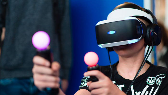 PlayStation VR en démonstration à Virtual Calais