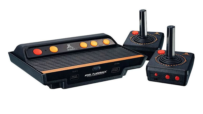 Just for Games distribue la console Atari Flashback 7