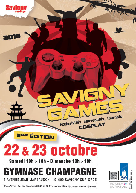 news  savigny games salon du jeu video les et octobre