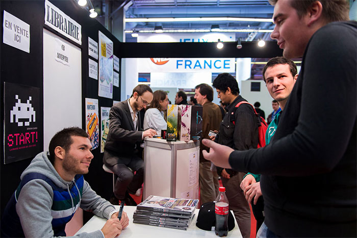 La librairie de la Paris Games Week