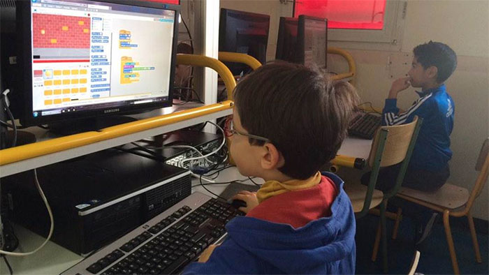 European Code week : A Issy 200 enfants codent chaque semaine