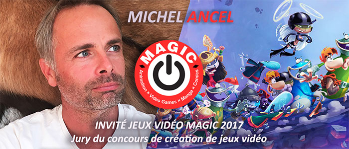 Michel Ancel invité du festival MAGIC