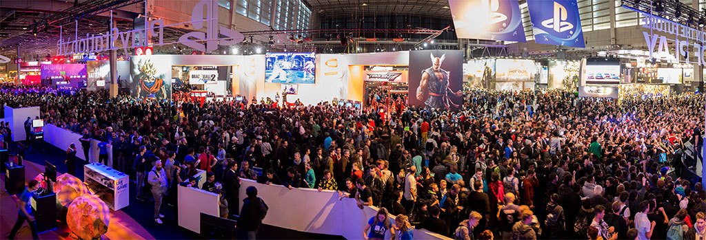 Foules à la Paris Games Week 2016