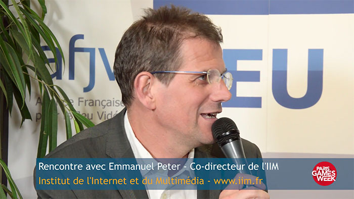 Interview d'Emmanuel Peter, co-directeur de l'IIM