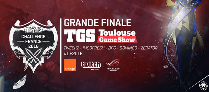 Finale de la coupe de France de League of Legends