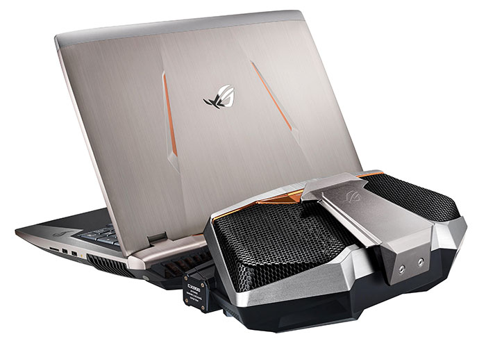 gx800 pc portable gaming avec un sli de geforce gtx 1080. Black Bedroom Furniture Sets. Home Design Ideas