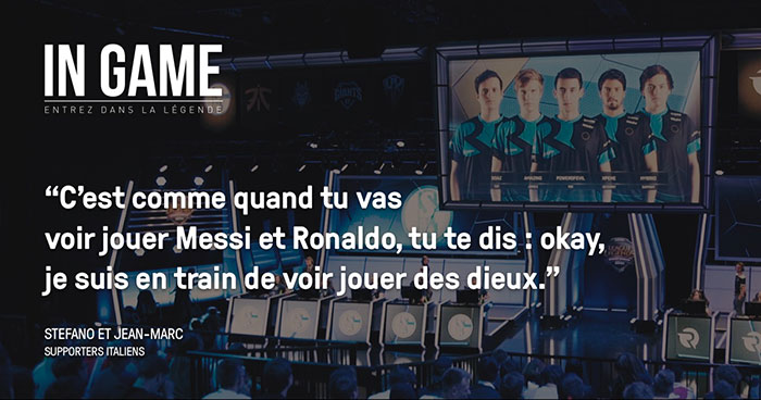 In Game : série documentaire eSport