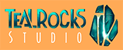 logo TealRocks Studio