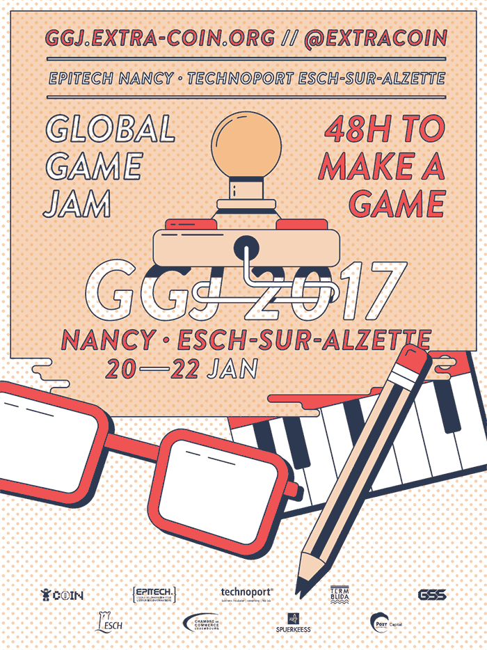 Global Game Jam 2017 - Nancy + Luxembourg