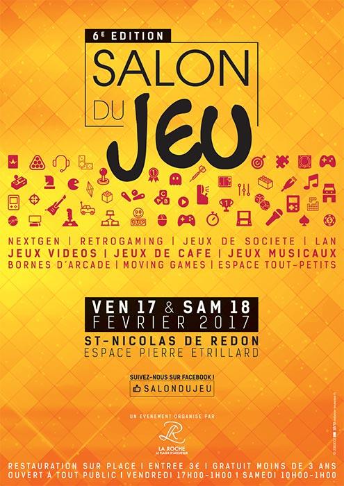 6e dition du salon du jeu saint nicolas de redon 44 - Salon du jeu video paris 2017 ...