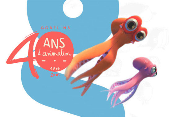 Gobelins 40 ans d'animations