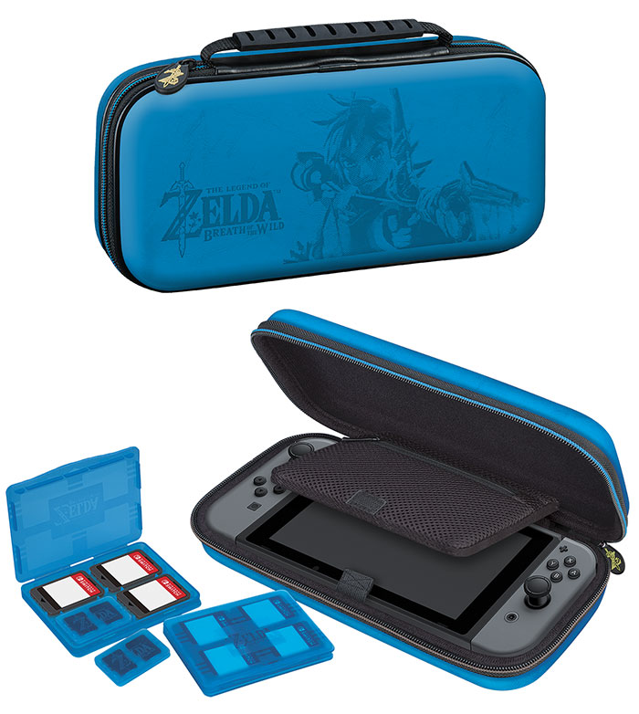 Pochette officielle Zelda Breath of the Wild Nintendo Switch