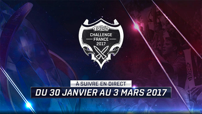 League of Legends Challenge France 2017