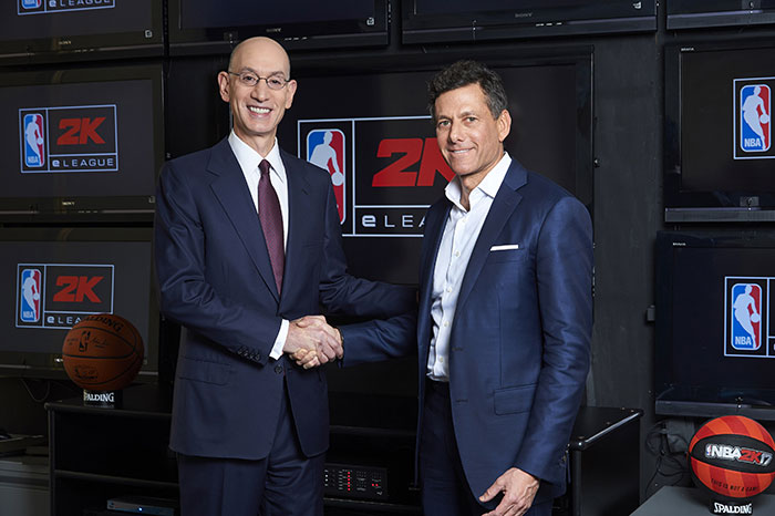 NBA et Take-Two annoncent la NBA 2K eLeague