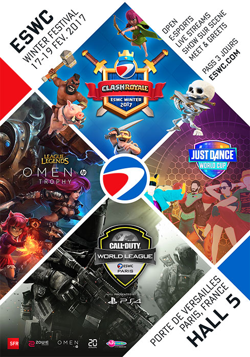 Les plus grands talents animeront l'ESWC Winter 2017