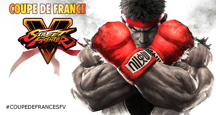 Coupe de France officielle de Street Fighter V