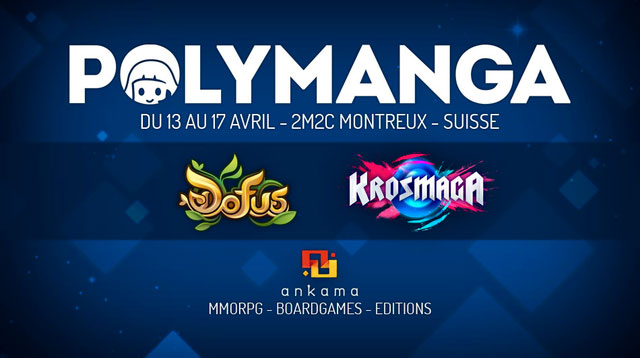 Ankama sort le grand jeu au salon Polymanga