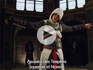 Assassins des Templiers - Squeezie et Norman