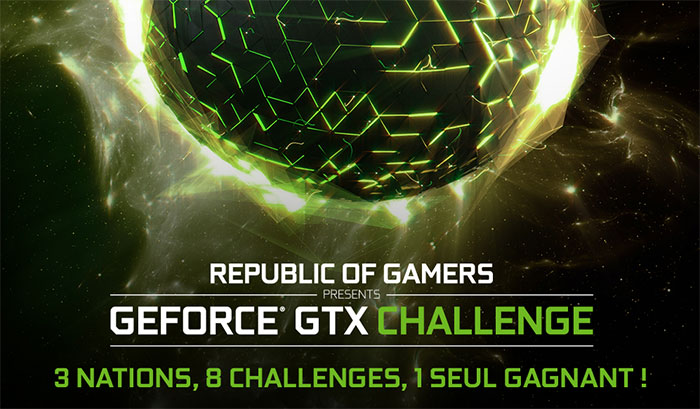 Venez encourager la team France au GeForce GTX Challenge
