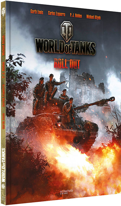 BD World Of Tanks - Roll out (couverture)